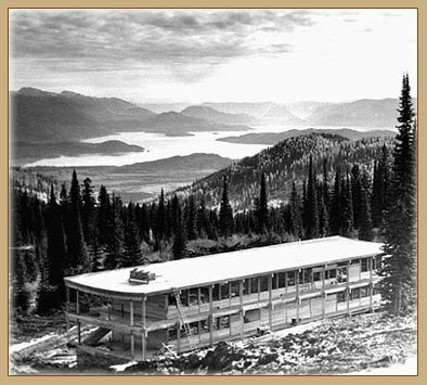 Early days on Schweitzer Mountain